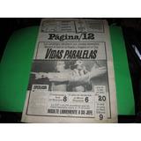 Diario Pagina 12 Menem Y Angeloz 10/5/1989 Politica Coleccio