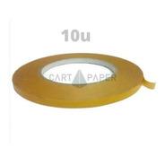 Cinta Transferible Doble Faz Contacto 50m X 9mm /cart Paper