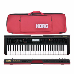 Teclado Workstation Korg Kross 61 + Bag Original + Nf Loja!