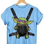 Playera Baby Yoda Hangover Mandalorian Grogu
