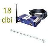 Kit Repetidor Sinal 3g Celular Aquário Rp2170 Super Potente