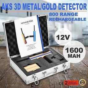 Aks Toma 3d Detector De Metal Oro Profesional - 272735467690
