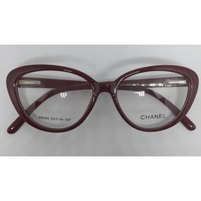 09cfd5d1bb729 Armacao Para Oculos Estilo Gatinho Vogue Chanel - Óculos no Mercado ...
