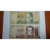 Billete De 20.000 (2004) Y 10.000 (2000).