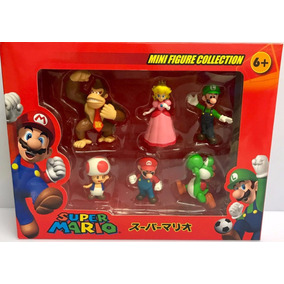 Kit Super Mario Bros Miniatura Colecionável Presentear