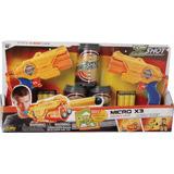 Lançador De Dardos X-shot Micro X3 Double Com 3 Latas - Cand