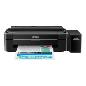 Impresora Epson L310, Ppm 33 Negro/15 Color, Tinta Continua,