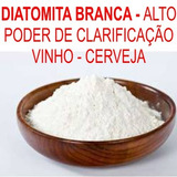 Diatomita Branca #325 Clarificação Filtro Vinho Cerveja 10kg