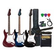 Combo Guitarra Eléctrica Amplificador 10w + Accesorios Envio