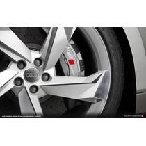 Jg Roda Audi Rs7 Prologue Aro 17 4/5 Furo Civic Corolla+pneu