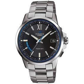 c6bc8a6766c Relogio Casio Oceanus Blue Waves - Relógios De Pulso no Mercado ...