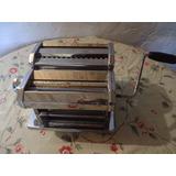 Maquina Cortar Tallarines Y Sobar Masa Pasta Casera Shule