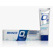 Creme Dental Bianco O2 - Auxilia Na Reparação Do Esmalte