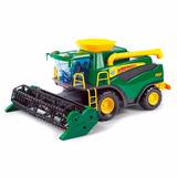 Colheitadeira Verde Brinquedo Poliplac