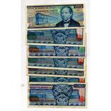 Billetes México Antiguo 50 Pesos Juares Azul S12