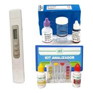 Kit Analizador Cloro Y Ph+ Analizador De Dureza+ Medidor Tds
