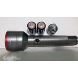 Lanterna Led T6 Power Light 2 Pilhas D 1000000wat Aluminum