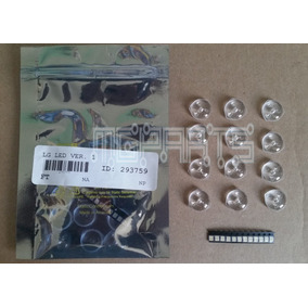 Kit 293759 Rep Led Lente Tv Led Lcd Lg Set 12 Vz01