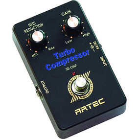Pedal Artec Se-cmp Turbo Compressor De Guitarra