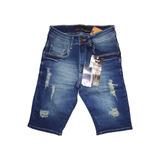 Bermuda Jeans Masculina Colcci Slim Fit Original Lycra 1890