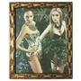 Porta Retratos 20 X 25 Com Vidro E Moldura Madeira Barato