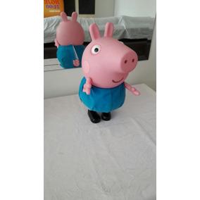 Boneco Peppa Pig - George - Multibrink
