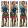 Vestido Viscolaycra Diversas Estampas Frete Gratis Brasil