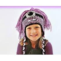 Gorros Tejidos A Crochet Personaje Minion Evil