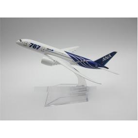 Air Japão Ana B787 Airlines Boeing 787 15 Cm Miniatura Avião