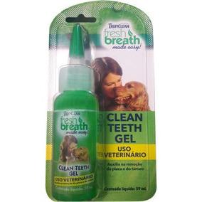 Removedor De Tártaro Clean Teeth Em Gel Cães E Gato