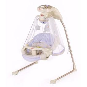Cadeira De Balanço Fisher-price Papasan Cradle Swing, Azul