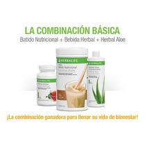 Paquete Basico Herbalife Malteada, Te, Y Aloe(envio Gratis)