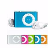 Reproductor Mp3 Clip Shuffle Usb Y Audifonos Sd Hasta 8gb