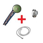 Duchador Mano + Soporte Articulado + Flexible 150cm Naffull