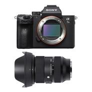 Sony A7 Iii Corpo + Sigma 24-70mm F2.8 Art E-mount C/ Recibo