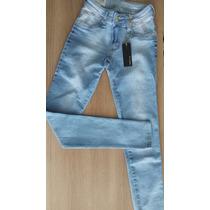 Kit 2 Calcas Jeans Femininas Patoge