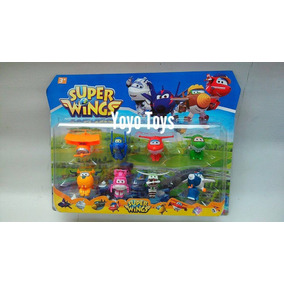 Super Wings - Discovery Kids Brinquedo Miniaturas