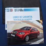 Manual De Ususario Chevrolet Aveo, Ed. General Motors Chile