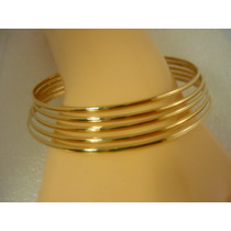 1 Bracelete De Ouro Argola Pulseira
