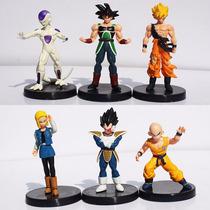 Bonecos Dragon Ball Goku Frezza Kuririm Android18 Cell Cada1