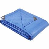 Lona Polietileno Azul 6 M X 4 M Piscina Festa Vonder