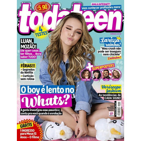 89d3dec2aada0 Revista Todateen 260 Larissa Manoela C Poster Bts Little Mix