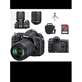 Nikon D7100 Kit Af-s 18-140 Vr Mb32 Bolsa Tripé