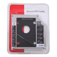 Caddy Sata A Sata 9,5mm Segundo Disco Lectora Notebook Mac