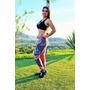 Kit Com 5 Calças Legging Suplex Roupas Fitness Ginastica
