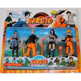 Naruto Kit Naruto Com 4 Bonecos Boneco Naruro Brinquedo