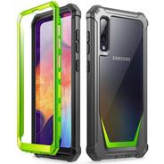 Funda Samsung Galaxy A51 Poetic + Protector Green