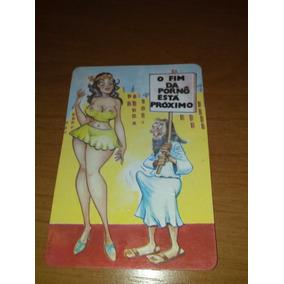 Calendários De Bolso Mulher Nua E Charge Pornô (colecione)5