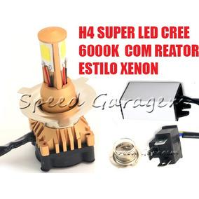Lampadas H4 Super Led Xenon Yamaha V-max Mt 03 Fazer 250 L4