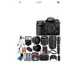 Kit Completo Cámara Profesional Nikon D7200